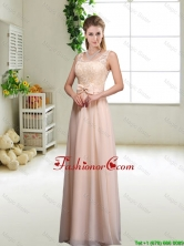 Pretty Laced and Bowknot Prom Dresses with Scoop BMT045EFOR