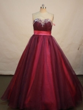 Romantic A-line Sweetheart Floor-length Prom Dresses Appliques Style FA-Z-00168