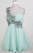 2012 Exquisite A-line One Shouldert  Neck Mini-Length Prom Dresses Style WlX426106