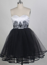 2012 Exquisite A-line Sweetheart Neck Mini-Length Prom Dresses Style WlX426102