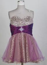 2012 New Short Sweetheart Neck Mini-Length Prom Dresses Style WlX42695