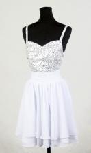 2012 Popular Empire Straps Mini-Length Prom Dresses Style WlX426130