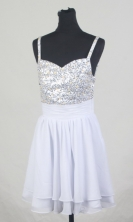 2012 Popular Empire Straps Mini-Length Prom Dresses Style WlX426130