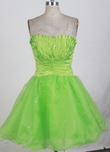 2012 Popular Short Strapless Mini-Length Prom Dresses Style WlX426126