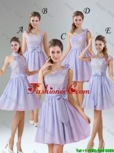 2016 Spring A Line Mini Length Prom Dresses in Lavender BMT010-1FOR