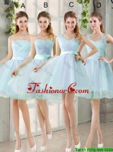 2016 Summer A Line Prom Dresses with Belt BMT014-6FOR