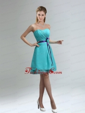 Classical Blue And Purple Sweetheart Prom Dresses with Ruches BMT006CFOR