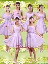 Discount A Line Lavender Prom Dresses with Beading BMT048FOR