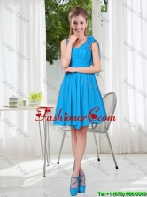 Gorgeous A Line Straps 2016 Short Prom Dresses BMT001C-6FOR