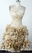 Perfect Short Sweetheart Mini-length Champange Prom Dress LHJ42804