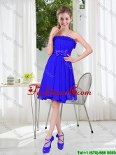 Short Strapless Prom Dresses for Wedding Party BMT001D-5FOR
