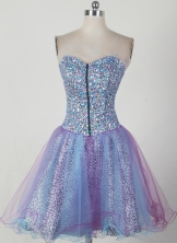 Sweet Short Sweetheart Mini-length Prom Dress LHJ42820