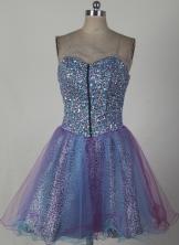 Sweet Short Sweetheart Mini-length Prom Dress LHJ42820