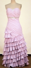 2012 Affordable Column Strapless Floor-Length Prom Dresses Style WlX426140