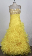 2012 Brand New A-line Sweetheart Neck Floor-Length Prom Dresses Style WlX42690