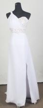 2012 Lovely Empire One Shoulder Neck Floor-Length Prom Dresses Style WlX426115