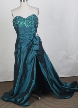 2012 New Empire Sweetheart Neck Brush Prom Dresses Style WlX42697