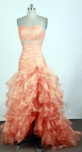2012 Popular Empire Strapless Brush Prom Dresses Style WlX426128