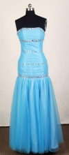 2012 Popular Empire Strapless Mini-Length Prom Dresses Style WlX426121