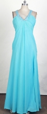 2012 Romantic Empire V- Neck Floor-Length Prom Dresses Style WlX42689