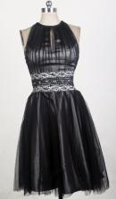 2012 Sweet Empire High-Neck Mini-Length Prom Dresses Style WlX426134