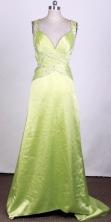 2012 Unique Empire V-Neck Brush Prom Dresses Style WlX426119