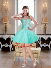 2015 Exclusive Sweetheart Mini Length Prom Dress with Beading2015 Exclusive Sweetheart Mini Length Prom Dress with Beading SJQDDT68003FOR