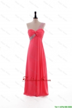 2016 Popular Empire One Shoulder Prom Dresses with Beading DBEES168FOR