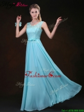 2016 Sweet Scoop Lace Fashionable Prom Dresses with Lace BMT069FFOR