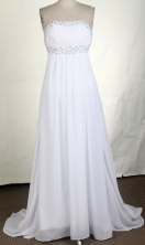 Affordable Empire Strapless Brush Prom Dress LHJ42841