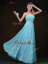 Beautiful Empire Strapless Fashionable Prom Dresses with Appliques BMT069DFOR