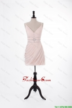 Brand New 2016 Short Light Pink Prom Dresses with Beading DBEES205FOR