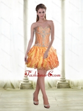 Classical 2015 Sweetheart Lace Up Prom Dress with Beading SJQDDT60003FOR