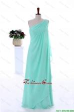 Custom Made Empire Beaded Prom Dresses in Apple Green DBEES082FOR