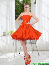 Custom Made Sweetheart Short Prom Dress with Belt  BMT001B-8FOR