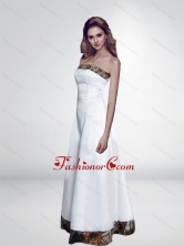 Fashionable Simple Empire Strapless Lace Up Camo Prom Dresses CMPD048FOR