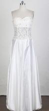 Elegant Empire Sweetheart Floor-length White Prom Dress LHJ42884