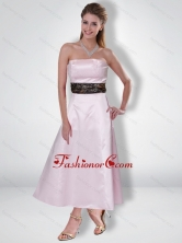 Fashionable 2015 Princess Strapless Ankle Length Camo Prom Dresses CMPD011FOR