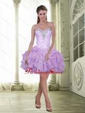 Fashionable Beading and Ruffles Sweetheart Prom Dresses for 2015 SJQDDT3003FOR