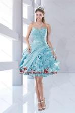 Fashionable Sweetheart Beading 2015 Prom Dresses in Aqua Blue XFNAO158TZCFOR