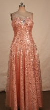 Gorgeous Empire Sweetheart-neck Floor-length Beading Prom Dresses Style FA-C-141