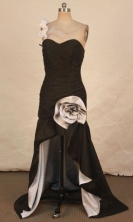 Gorgeous High-low One-shoulder Neck Brush Prom Dresses Style FA-C-134