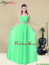 Lovely Scoop Fashionable Prom Dresses with Appliques and Belt BMT008-12FFOR