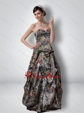 Fashionable A Line Sweetheart Beading Camo Prom Dresses with Outdoor CMPD061FOR
