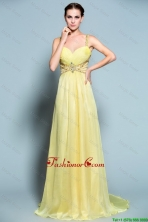 Popular Empire Straps Prom Dresses with Beading DBEE460FOR