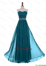 Simple Empire Sweetheart Beaded Prom Dresses with Belt DBEES341FOR