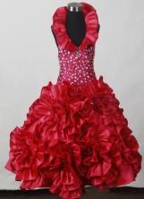 2012 Beautiful Ball Gown Sweetheart Floor-length Flower Girl Dress  Style RFGDC021