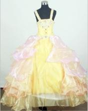 2012 Brand new Ball Gown Strap Floor-length Flower Girl Dress Style RFGDC095