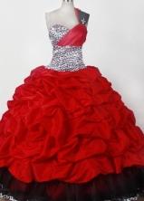 2012 Elegant Ball Gown One-shoulder Floor-length Flower Girl Dress Style RFGDC040