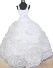 2012 Elegant Ball Gown Strap Floor-length Little Gril Pagant Dress  Style RFGDC068